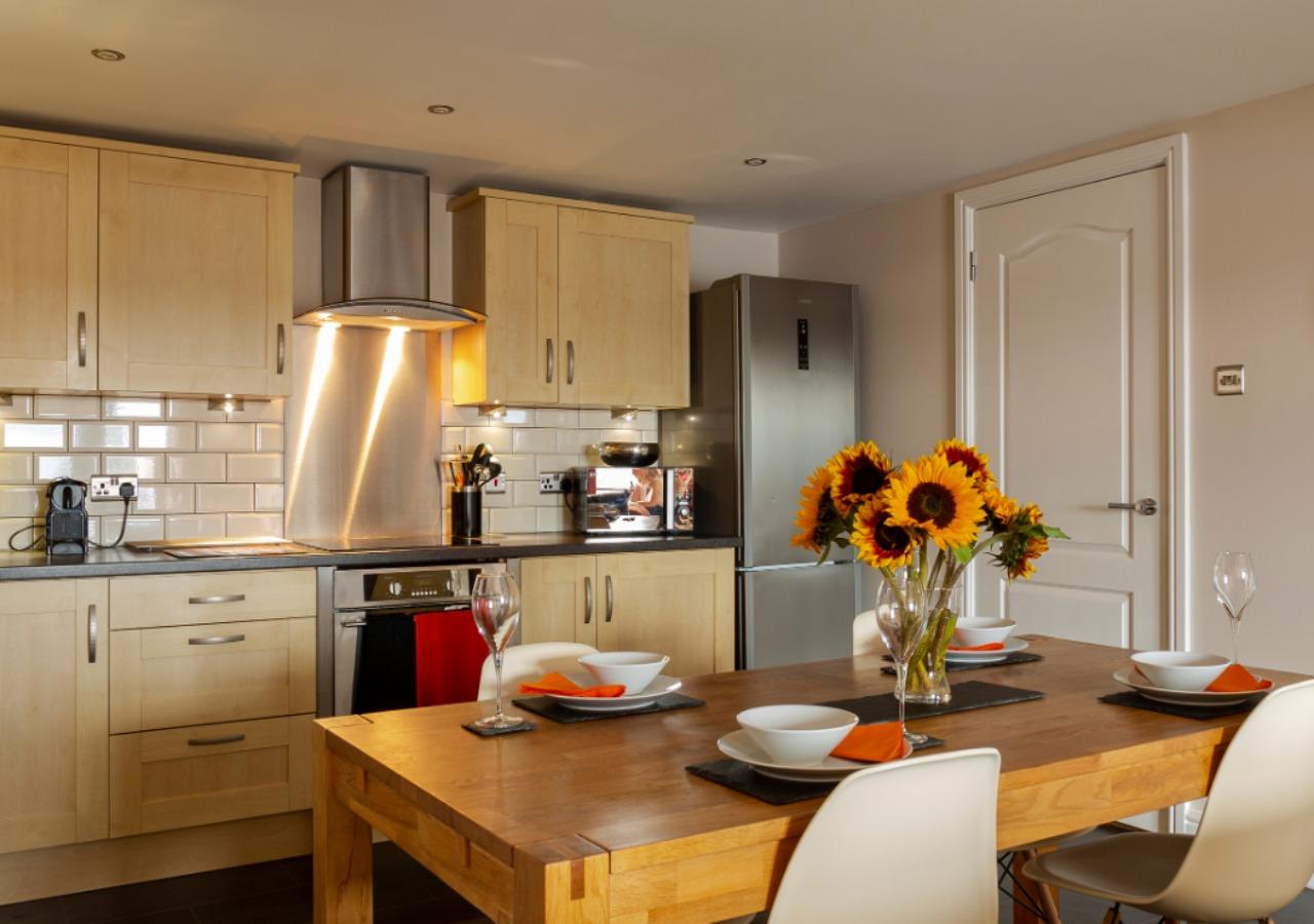 Beautiful dining kitchen