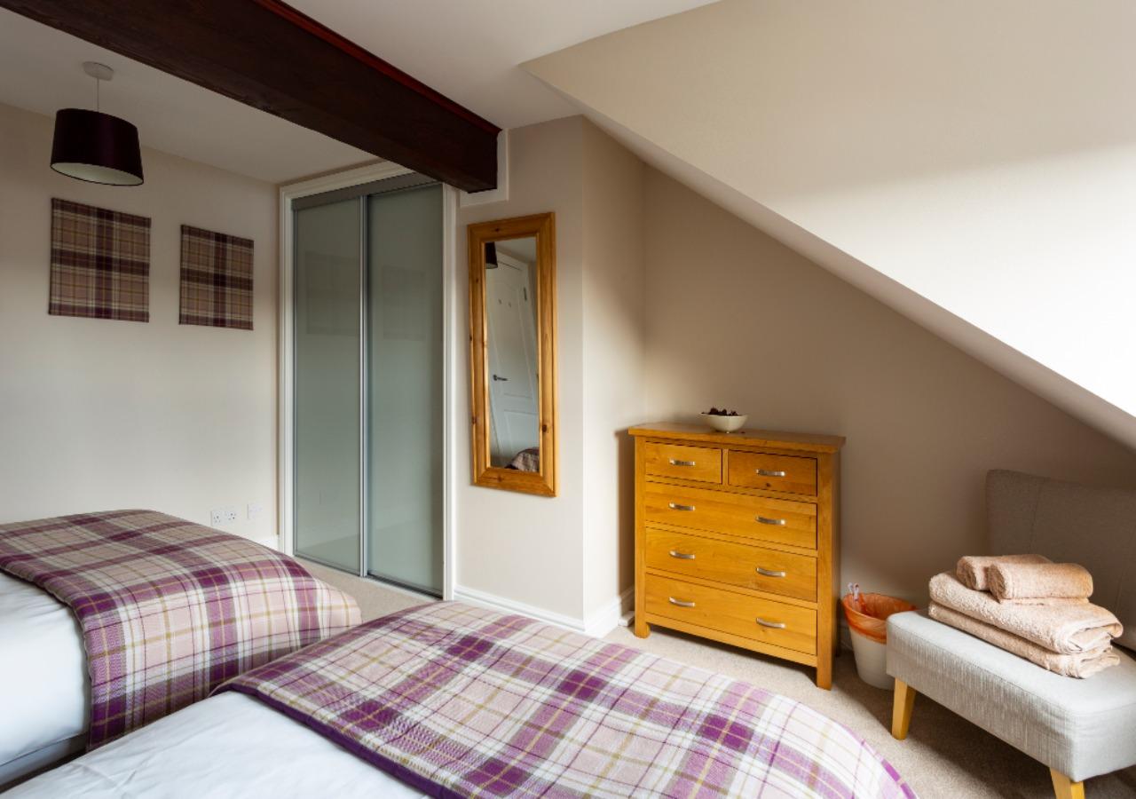Tasteful Berriedale Bedroom