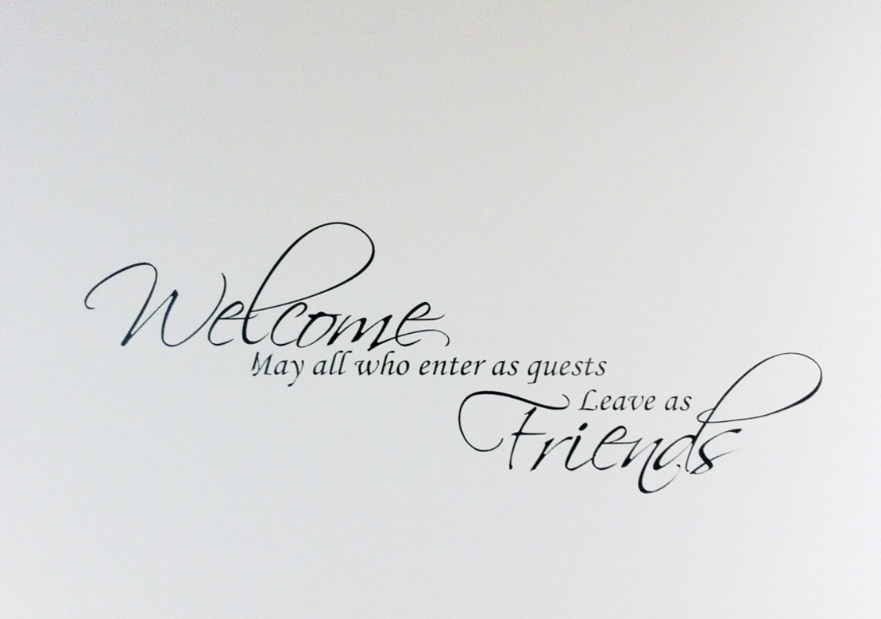 Welcome to our guests