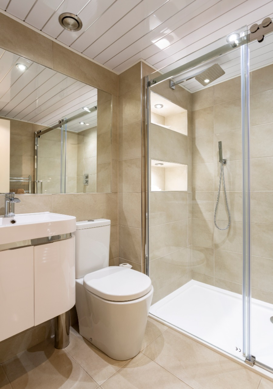 Beautiful shower room