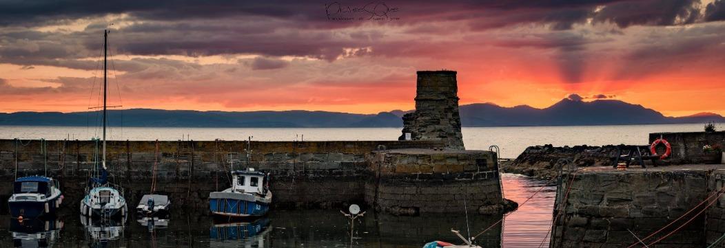 Dunure Harbour views - where Outlander was filmed