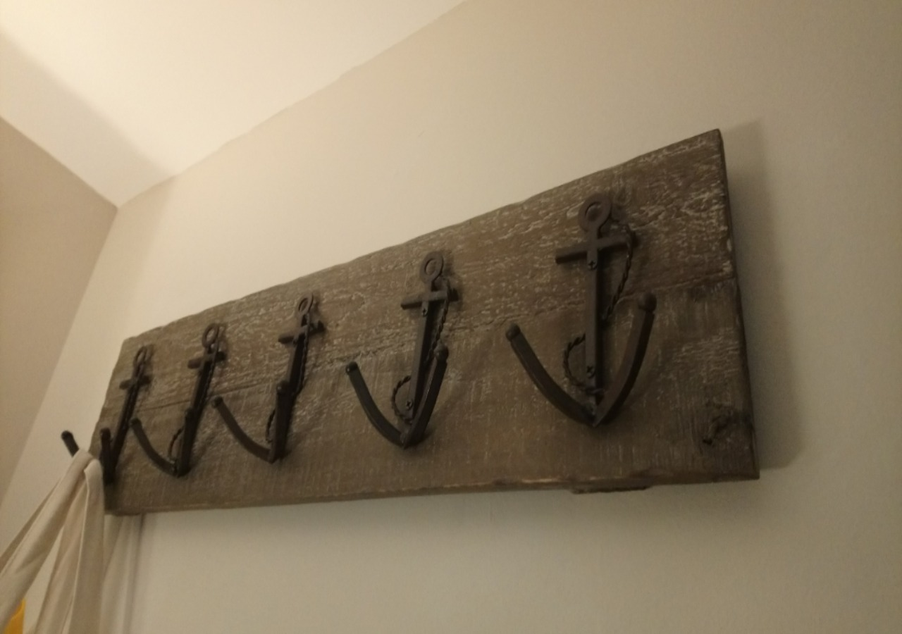 Stylish hallway accessories