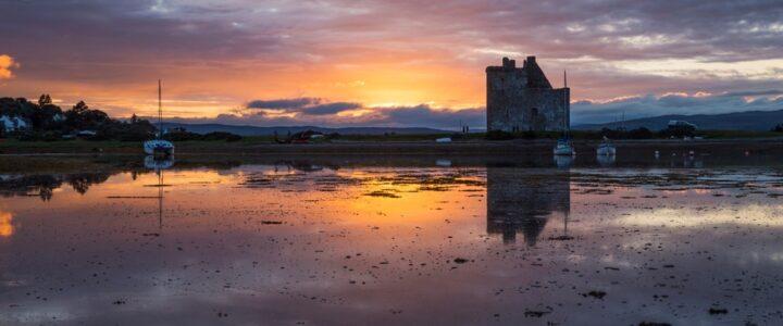 View of Lochranza Castle, Arran