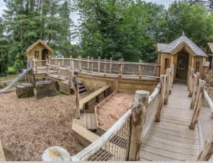 Adventure Playpark at Brodick Castle